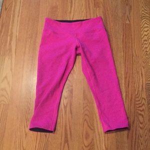 Reversible Lululemon Crop Pants Size 8